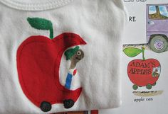 Richard Scarry, Lowly in Apple Car    Blogged about here: lettiebee.blogspot.com/2010/07/other-peoples-babies.html