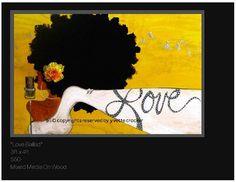 Love by the Floetic Painter Yvette Crocker