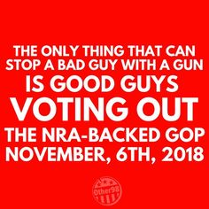 Exactly. We have more guns and easier access to them than ever before and mass shootings and the numbers of casualties and deaths from each one have only increased, yet the GOP-NRA is still pushing for more guns, no restrictions on the kinds of weapons, and unfettered access to guns, including for the mentally ill, those on terrorist watch lists, and those previously convicted of crimes. The definition of insanity is doing the same thing over and over and expecting a different result. They…