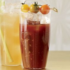 Although Kathy Casey's balsamic-spiked Bloody Mary mix is supertasty, you can simplify this recipe by using a store-bought mix.