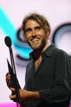 matt corby | Matt Corby Matt Corby accepts the award for 'Song of the Year' during ...