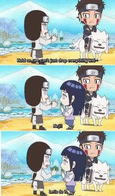 <3 Neji & Hinata Anime Naruto, Naruto Cool, Manga Anime, Naruto Funny, Naruto And Sasuke, Itachi, Naruto Shippuden, Boruto, Shikatema