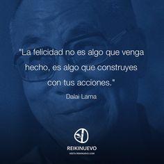Dalai Lama: Cómo alcanzar la felicidad http://reikinuevo.com/dalai-lama-felicidad/
