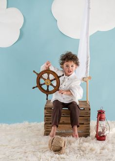Little pirate child portrait session Kat Forder - Maryland family photographer Toddler Photography, Newborn Photography, Portrait Photography, Baby Pictures, Baby Photos, Pirate Photo, Kids Studio, Foto Baby, Photography Backdrops