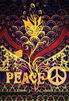 ➳➳➳☮American Hippie Art - Peace