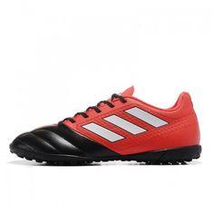 Billige Fodboldstøvler Tilbud - Bedst Adidas Copa Tango 17.1 TF Sort Rod Fodboldstovler