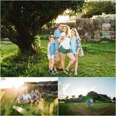 Okinawa photography locations castle family photography