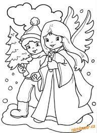 Výsledek obrázku pro omalovánky vánoce pro děti