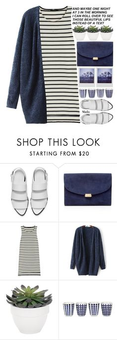 """isnt it weird that literally everything is made up"" by alienbabs ❤ liked on Polyvore featuring Alexander Wang, Polaroid, Mansur Gavriel, Markus Lupfer, Torre & Tagus, Pols Potten, clean, organized and shein"