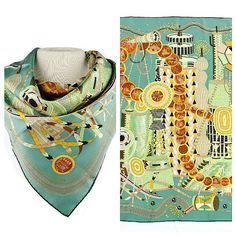 Hermes La Laboratoire du Temps Silk Scarf. Available in our upcoming Designer Couture Jewelry & Luxury Gifts Auction on November 22nd!  #art #antique #antiques #fineart #paintings #furniture #furnishings #homedecor #décor #auction #auctionhouse #auctions #auctiongallery #gallery #estates #estate #Georgia #GA #Atlanta #Atl #Buckhead #luxury #gifts #couture #designer #Hermes #scarf #silk by ao_auctiongallery