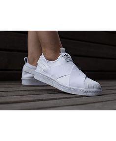 8aa782de052 Adidas Superstar Slip On Clean White Shoes Cheap Sale Adidas Superstar Slip  On