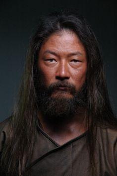 Tadanobu Asano, Asian actor with a beard.