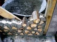 using a lot more cordwood.