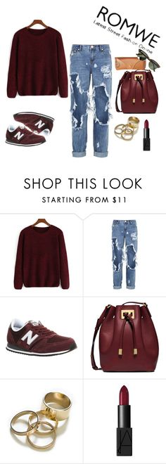 """Bez naslova #49"" by wmaria ❤ liked on Polyvore featuring One Teaspoon, New Balance, Michael Kors, Zara, NARS Cosmetics and Ray-Ban"