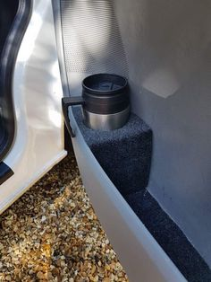 Door pocket cup holder