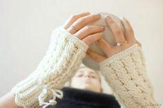 Mezzi guanti a uncinetto con punto treccia – Spiegazioni | Cucito Creativo | Bloglovin'