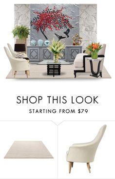"""""""1/19/2017"""" by suelb ❤ liked on Polyvore featuring interior, interiors, interior design, home, home decor, interior decorating, ESPRIT, ADAM and The French Bee"""