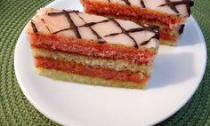 Nejjednodušší punčový řez Czech Recipes, Ethnic Recipes, Tiramisu, Sandwiches, Cheesecake, Punk, Cookies, Desserts, Food