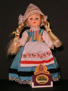 vintage HOLLAND doll from the Ginny Vogue line of dolls from various countries