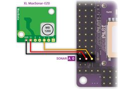 Connect your Ultrasonic Sensor to the A0 port of your Ardupilot Mega v2 board
