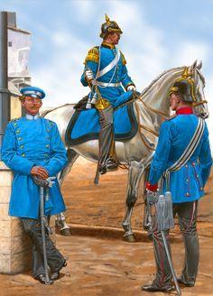 1st Hanoverian Dragoon Regiment, Franco-Prussian War