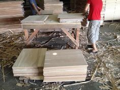Akasia, pain , with MDF process by Vietnam manufacture..For USA market..cheap worker high quality..(July.27th.2014)