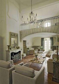 Arredamento in stile provenzale per la casa - Zona giorno in stile provenzale