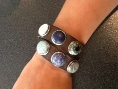 Noosa Cuff Bracelets, Silver Rings, Amsterdam, Leather, Bands, Arm, Jewelry, Fashion, Accessories