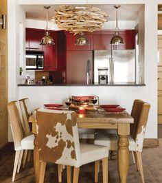 Chaleureux refuge | Les idées de ma maison © Angus McRitchie | Stylisme, Marie-Josée Poupart #deco #cuisine #salleamanger #table