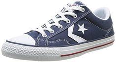Converse Star Player Adulte Core Canvas Ox - Zapatillas deportivas, unisex, color azul (bleu (10 marine/blanc)), talla 39 Converse http://www.amazon.es/dp/B00KVICY7I/ref=cm_sw_r_pi_dp_RDGGvb08KDV5V