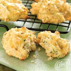Zucchini Cheese Drop Biscuits from Crisco®