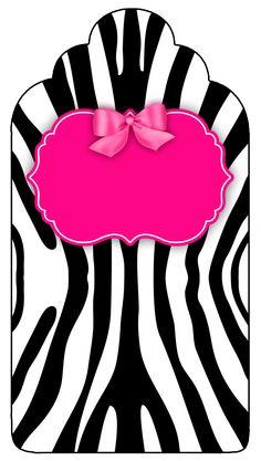 Kit gratis para impressão Zebra rosa e preto, Kits Completos, Kits para Meninas, Poá Rosa, Zebra, convite zebra rosa, convite zebra e rosa, kit completo poá rosa e zebra, Kit Fundo Zebra, kit gratuito rosa e zebra, Montando a Minha Festa