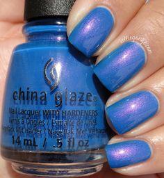 China Glaze — Come Rain Or Shine (House of Colour Collection   Spring 2016)