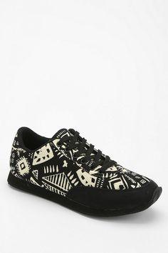 Deena & Ozzy Geo-Print Running Sneaker #urbanoutfitters