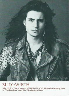 Billy Wirth. A.k.a Dwayne (NOT Paul) From the Lost Boys.