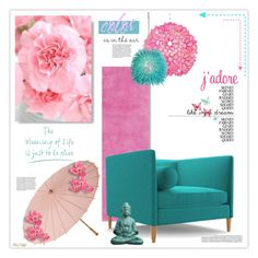 """""""Color is in the (ch)air"""" by mcheffer ❤ liked on Polyvore featuring interior, interiors, interior design, home, home decor, interior decorating, Home Decorators Collection, Joybird Furniture, Cultural Intrigue and Worlds Away"""