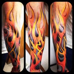 Best Flame Tattoos