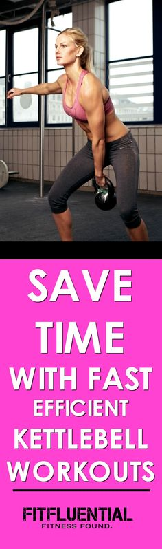 Get results in just one hour a week! Kettlebell expert Lisa Balash shows you how.