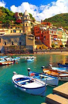 The beauty of the Italian sea - VERNAZZA
