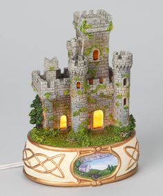 Take a look at this Lighted Irish Castle Figurine today!
