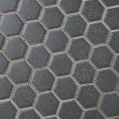 Merola Tile Gotham Hex Black 10-1/4 in. x 12 in. x 5 mm Porcelain Unglazed Mosaic Tile (8.54 sq. ft. / case)-FXLGHBK - The Home Depot