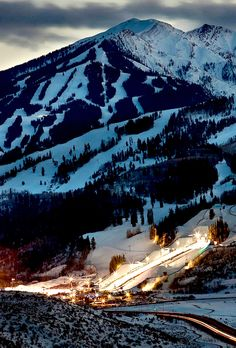 Aspen, Colorado USA - looking forward to adding this to our pin of Our Favorite Places! It looks amazing.