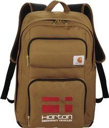 Carhartt Signature Standard Work Laptop / MacBook Waterproof Backpack - New Backpack With Wheels, Backpack For Teens, Backpack Bags, Computer Backpack, Computer Bags, Vynil, 17 Inch Laptop, Waterproof Backpack, Girl Backpacks