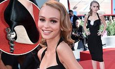 The 17-year-old daughter of Johnny Depp and Vanessa Paradis stole the show when she arrived at the Venice Lido on Thursday in a glamorous, vintage inspired dress.