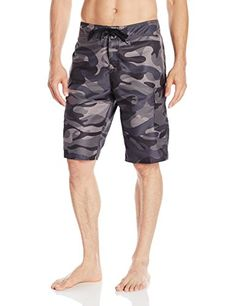 Quiksilver Mens Manic 22 Inch Boardshort Manic Camo Black2 28 >>> Check out the image by visiting the link.