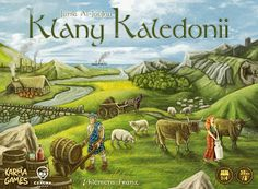 The very well received German board game Clans of Caledonia, from German publisher Karma Games, will be soon available here in North America through ACD Distribution. Game Arena, Ticket To Ride, Board Game Geek, Robinson Crusoe, Scottish Clans, Games To Buy, Yard Games, Tabletop Games, I Am Game