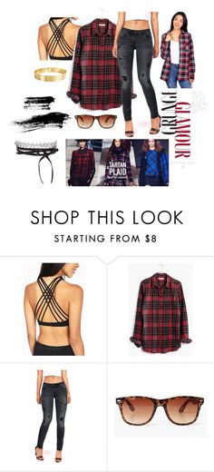 """""""GRUNGE GLAM"""" by pinkiceofficial ❤ liked on Polyvore featuring Madewell"""