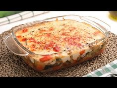 Bechamel, Queso, Pudding, Youtube, Desserts, Recipes, Food, Gratin, Recipes With Vegetables