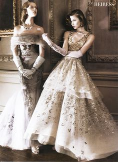 Stunning gowns
