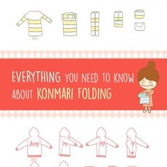 """Now that I have KonMari-ed all my clothes, how do I fold them correctly?""  I am sure I am not the only one with this question.  If you have seen my 10 illustrations that summarize the …"